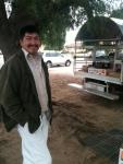Produce truck vendor.